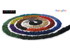 EPDM Colorful Granule Used in Spain pictures & photos