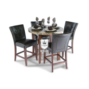Round Marble Restaurant Table For 4 People