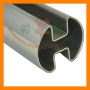 Railing with 304, 316 Stainless Steel Round Slotted Tube pictures & photos