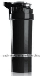 New 700ml Plastic Protein Shaker Bottle pictures & photos