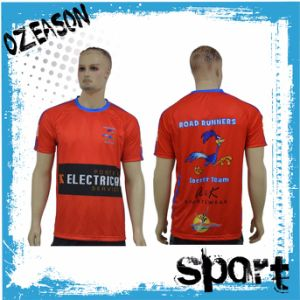 New Style Fashion Design Custom 100% Polyester Sublimation Quick Dry T Shirt pictures & photos