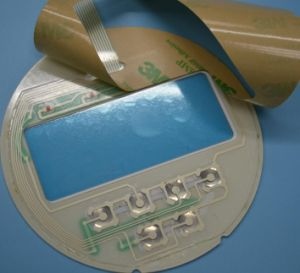 Embossed Domes Membrane Switch for Medical Equipment with LCD Window pictures & photos