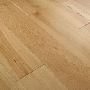 Ab Grade Wide Plank Engineered Oak Wood Flooring/Hardwood Flooring pictures & photos