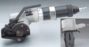 Combined Steel Strap Pneumatic Packing Machine Strapping Tool pictures & photos