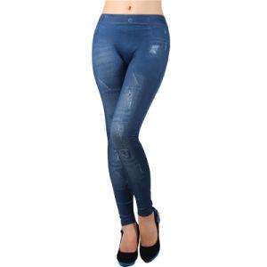 Ohyeah Wholesale Spandex Denim Jeans Pants Leggings pictures & photos