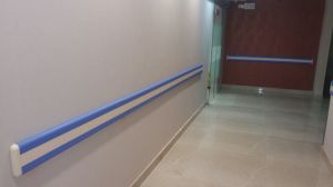 Safety Hand Rails Wall Mounted Bumper Handrail Guard pictures & photos