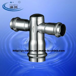 Stainless Steel Compression Pipe Fittings pictures & photos