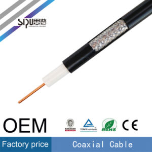 Sipu Factory Price Communication RG6 Coaxial Cable Whoesale TV Cable pictures & photos