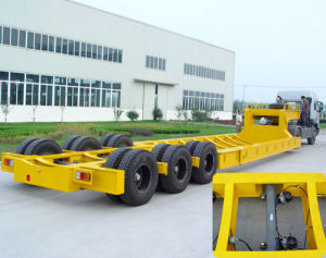 Semi Low Bed Trailer pictures & photos