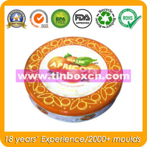 Round Tin Box for Pet Food Tin Packaging, Dog Tin pictures & photos