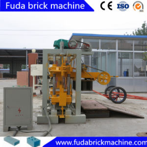 Single Phase Low Cost Small Cement Block Making Machine pictures & photos