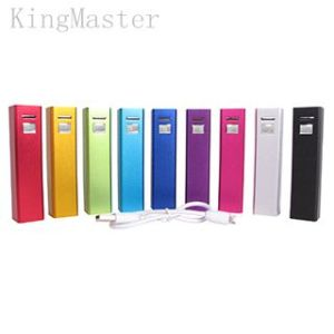 Kingmaster 2600 Portable Charger - Compact 2600mAh 1-Port Ultra Portable Phone Charger Kingmaster Portable Power Bank pictures & photos