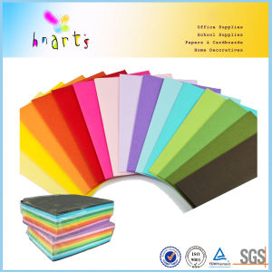 Virgin Pulp Origami Paper Folding Paper Fsc BSCI in Bright Color pictures & photos