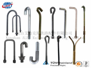Customized T Head Bolt L Bolt with Plain Oiled