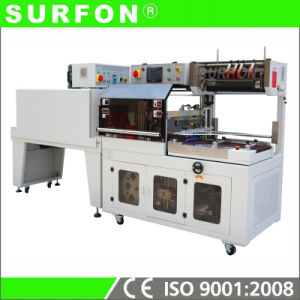 Automatic Side Sealer and Shrink Tunnel Shrink Wrapping Machine pictures & photos