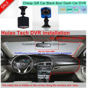 "Cheap Gift 2.4""HD 720p VGA Car Black Box Digital Video Recorder DVR with 1.0mega Car Camera DVR-2402 pictures & photos"