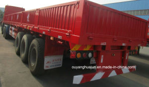 12 Meters Flatbed Semitrailer with Side Wall pictures & photos