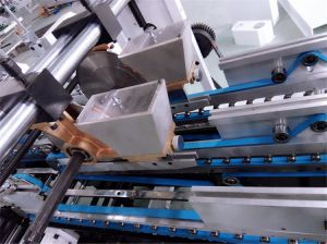 Popcorn Box Folder Gluer Superfold (GK-780CB) pictures & photos
