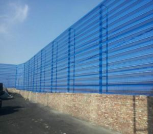 Dust Suppression and Wind Proofing Wall Perforated Metal Mesh pictures & photos