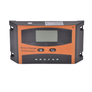 LCD Display 12V/24V/48V 10A/20A/30A PWM Intelligent Solar Charger/Charge Controller pictures & photos