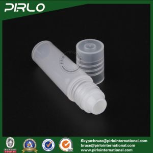 5ml Plastic Translucent Deodorant Roll on Bottle Empty Cosmetic PP Plastic Roll on Bottle Essential Oil Refillable 5ml Bottle pictures & photos