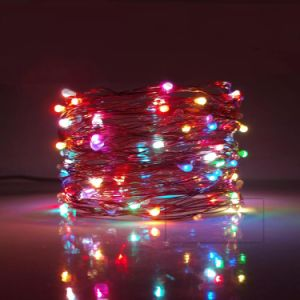RGB Multi Color USB Powered Copper Wire LED Rope Lights for Bedroom Patio Garden Christmas pictures & photos
