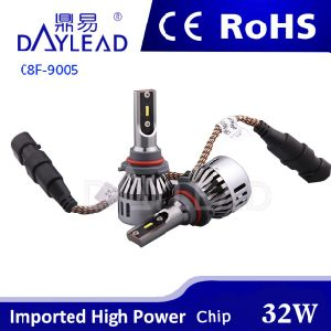 3200lm 6000k Auto LED Headlamp with Seoul Chip