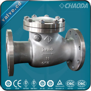 PN-Grade Cast Steel Swing Check Valve pictures & photos