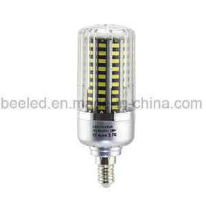 LED Corn Light E14 20 Cool White Silver Color Body LED Bulb Lamp