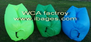 Waterproof Nylon Inflatable Air Sleeping Couch (C003) pictures & photos
