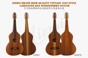 Weissenborn Lap Steel Guitar Hawaiian Plywood Handcrafted / Hawaii Guitar (HG007B) pictures & photos
