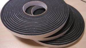 8mm Black Color Single Sided PVC Foam Tape pictures & photos
