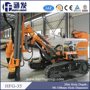 Hfg-35 Hydraulic DTH Drilling Rig Designed for Blast Hole Drilling in Mining pictures & photos