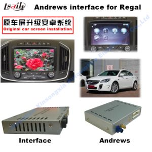 Android GPS Navigation System Video Interface for Opel Insignia / Buick Regal pictures & photos