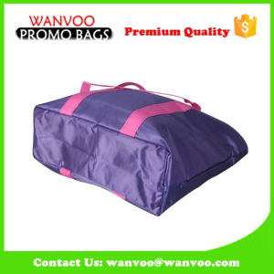 Fashion Reusable Foldable Picnic Non Woven Cooler Insulation Handbag Packed with Food Drink for Outdoor Travel pictures & photos