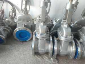 Flange Stainless Steel Gate Valve for Oil Gas and Water (Z41F) pictures & photos