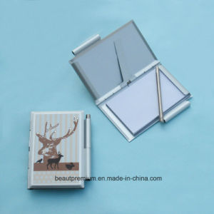 Hot Sell Folding Name Card Case with Portable Pen BPS0164 pictures & photos