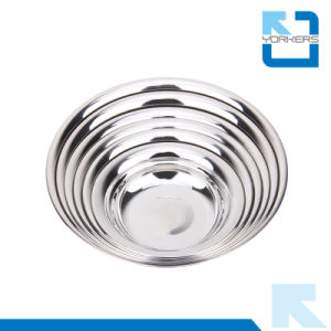 Multi-Size Stainless Steel Soup Plate & Mixing Bowls pictures & photos