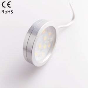 35mm Round Mini LED Cabinet Light with High for Bedroom pictures & photos