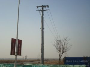 Steel Lattice Pole Tower with High Quality pictures & photos
