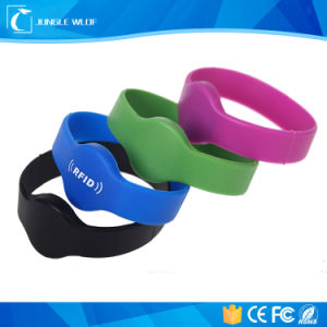 Waterproof Silicon RFID Wristband Tk4100/Em4200 pictures & photos