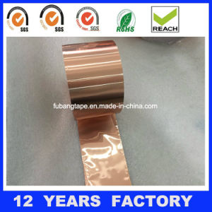 Oxygen-Free Copper Foil Tape for Electronics Use C10100 pictures & photos