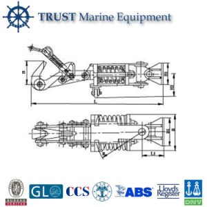 2-45 Ton Marine Trailer Towing Hook pictures & photos