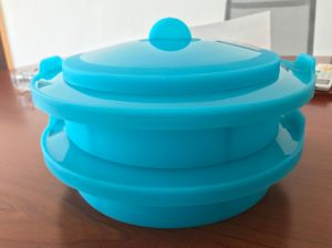 Plastic Microware Cooker Container pictures & photos