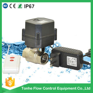 Wireless Remote Control Valve Electric Water Motorized Ball Valve pictures & photos