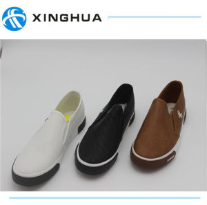 Rubber Shoes Canvas Good Design Casual Footwear pictures & photos