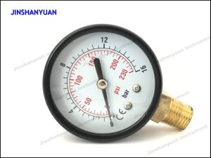 Gpg-005 Bourdon Tube Gry Pressure Gauge pictures & photos
