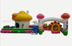 Custom Outdoor Toy Inflatable Bouncy Jumping Slide Castle pictures & photos