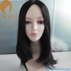 Double Drawn Mogolian Virgin Hair Jewish Hair Wig