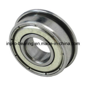 Precision Miniature Flanged Ball Bearing (F607 F607ZZ F607-2RS) pictures & photos
